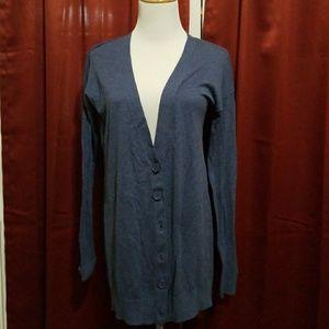 Express light weight Blue summer cardigan